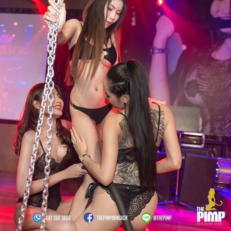 erotic show in Bangkok at the PIMP