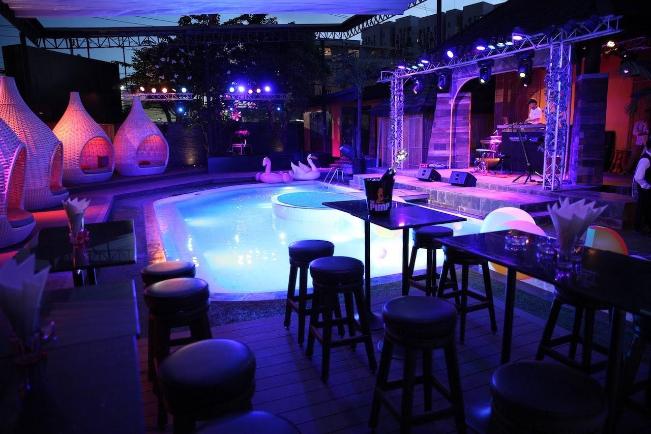 Pool zone at the PIMP Bangkok