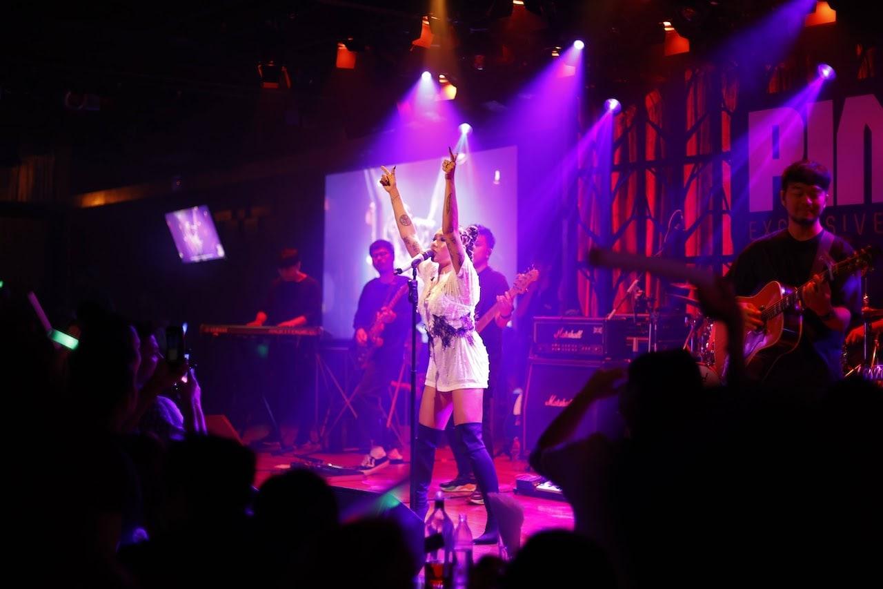 live performance at the PIMP Bangkok