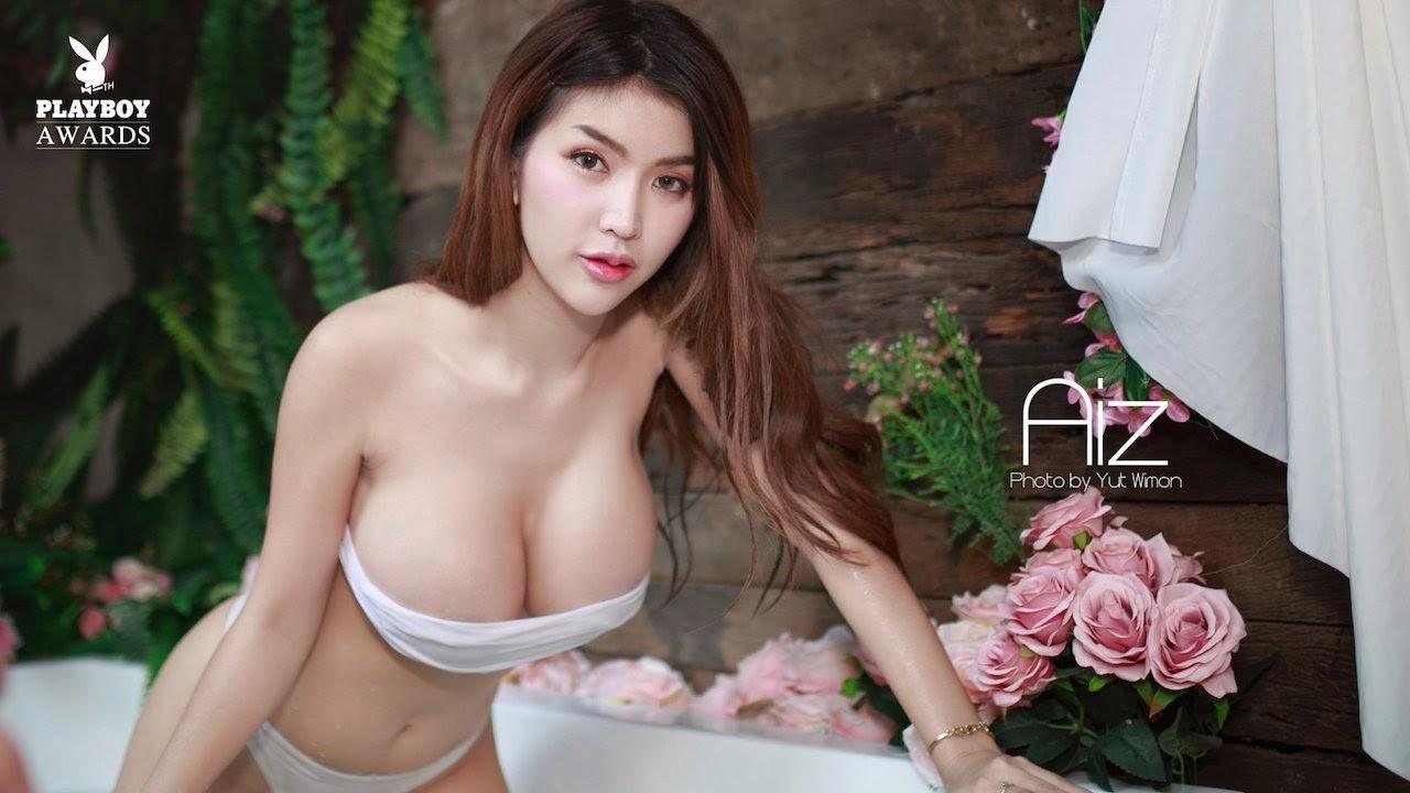 photo of the Thai model Alisa Rattanachawangkul by the photographer Yut Wimon for Playboy Thailand