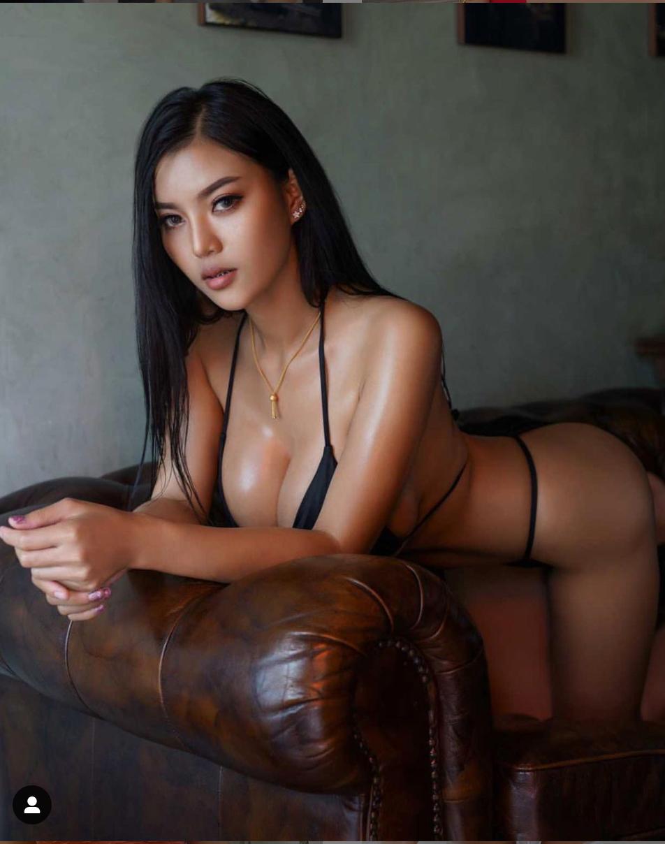 Exotic Fai Orapun in Sexy G-String