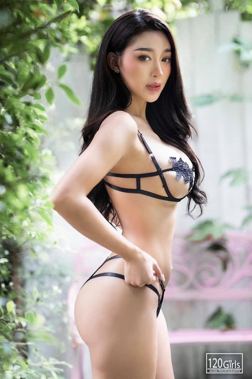 Bunny Zudeah Thai Super Model in Lingerie