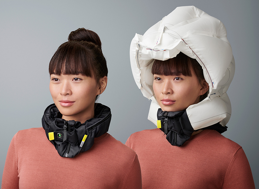Hovding urban cycling helmet airbag
