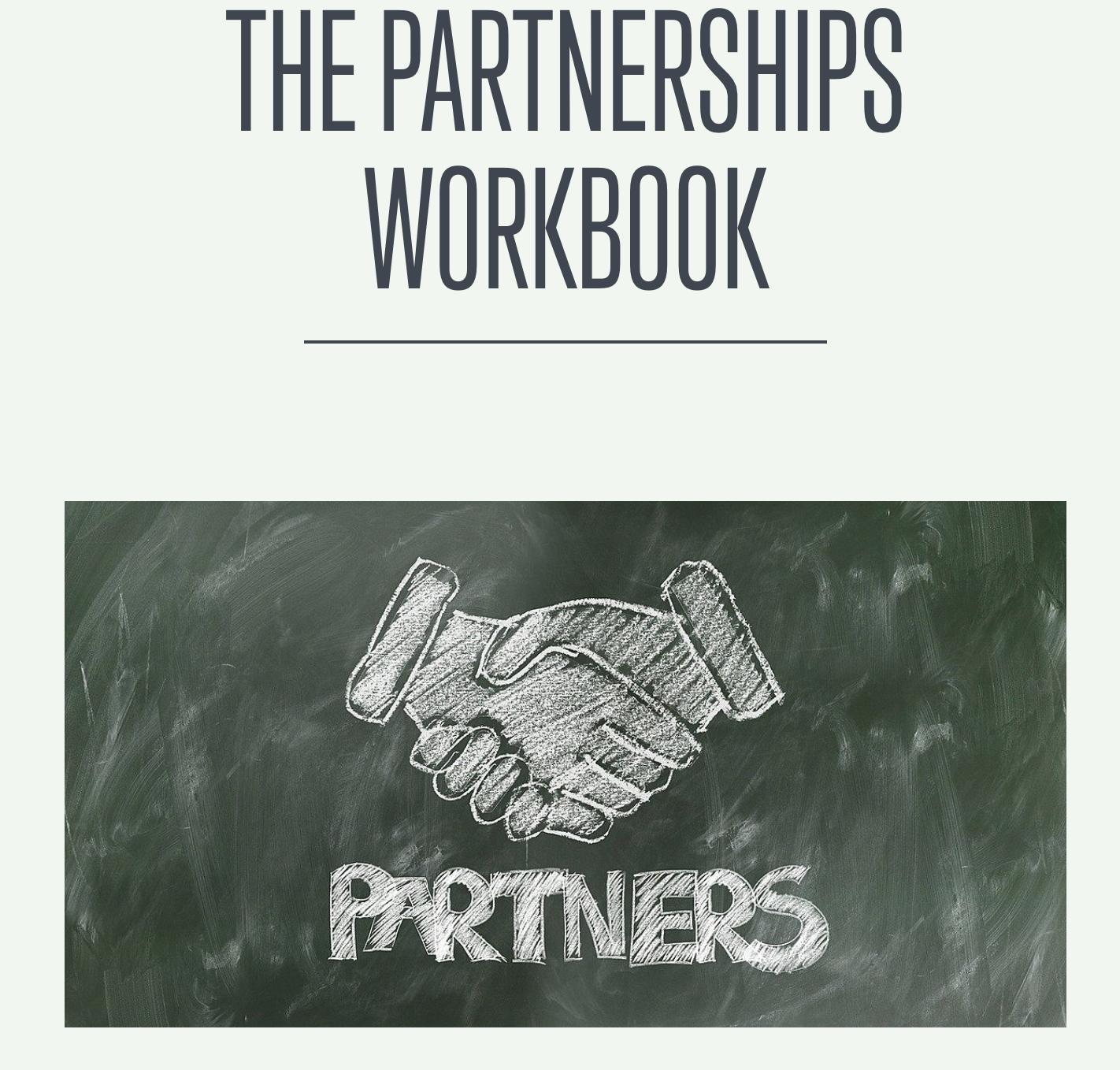 The Partnerships Workbook by Clinton Senkow