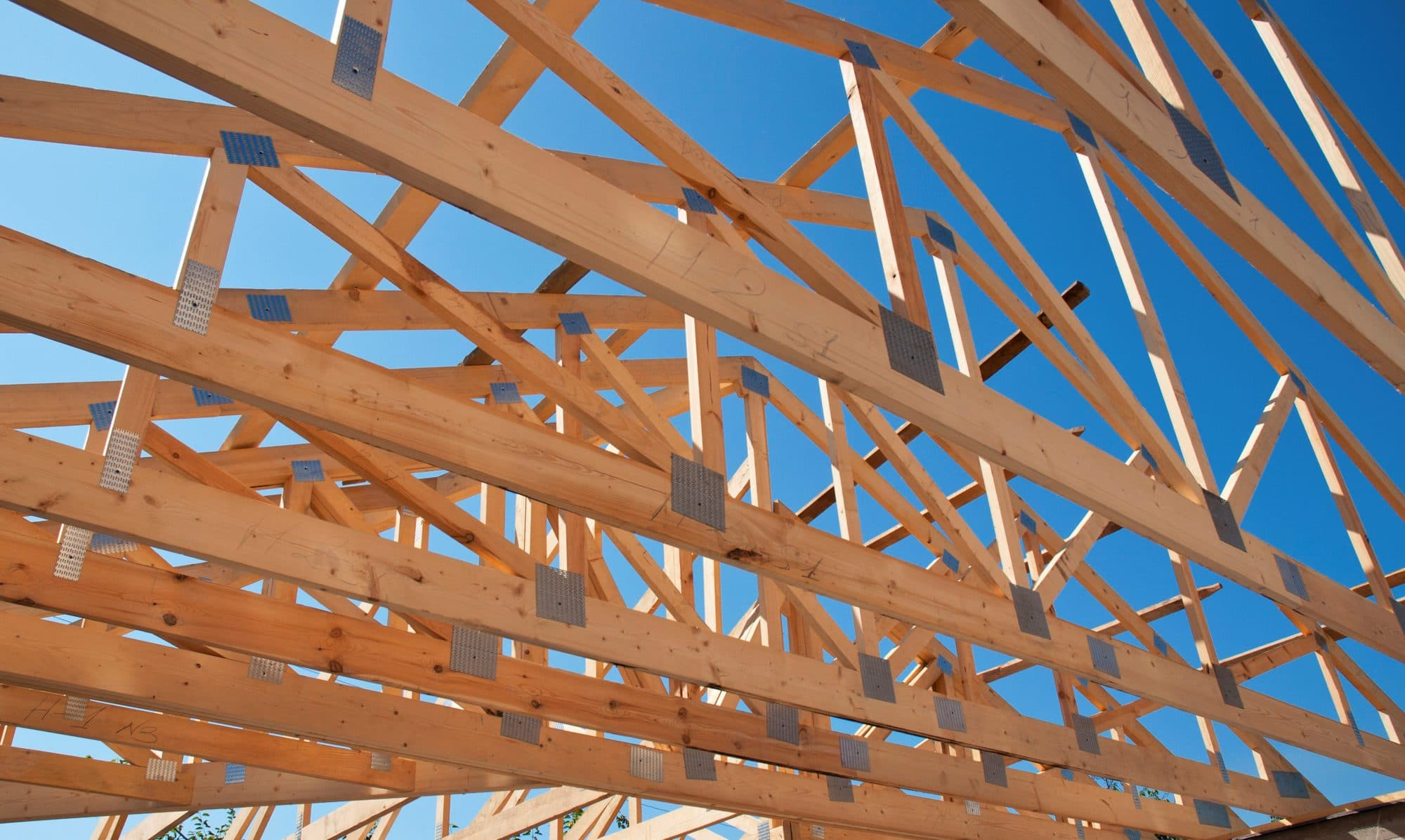 Timber framing for a house
