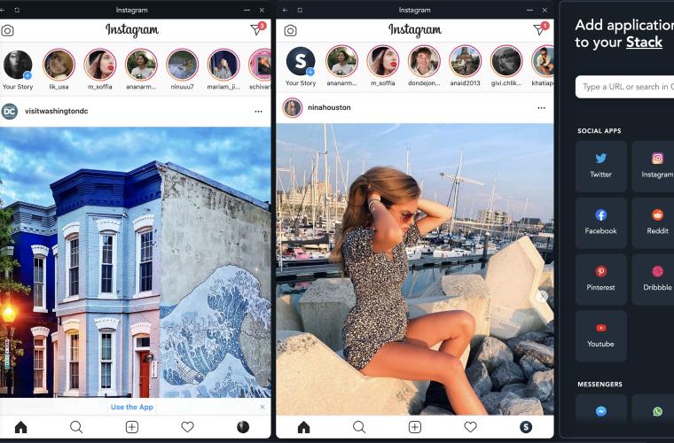 Login into multiple Instagram accounts on Desktop?