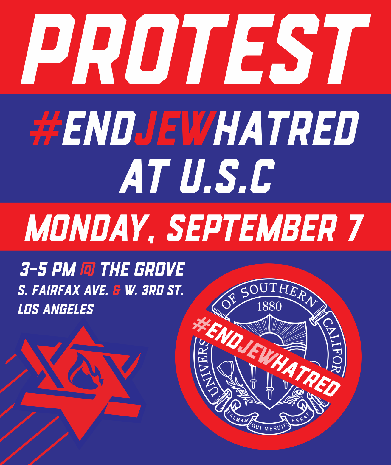 END JEW HATRED AT U.S.C.