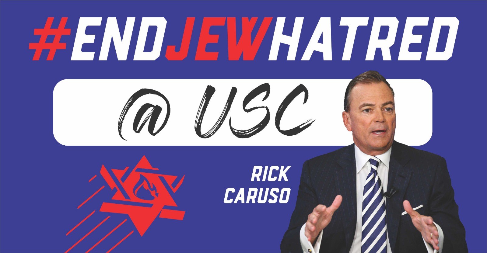 USC - Rick Caruso poster