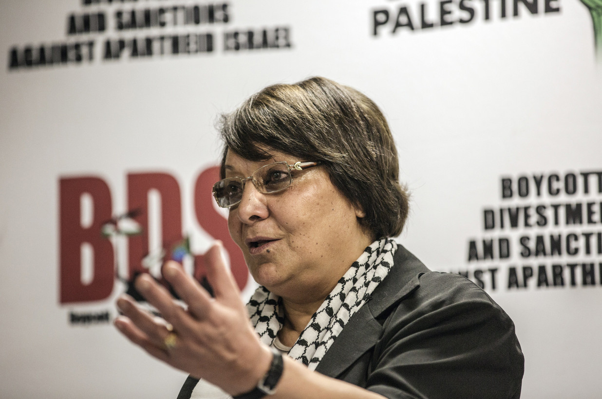 Zoom cancels event featuring Palestinian hijacker Leila Khaled