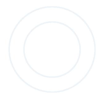 A fine line white circle