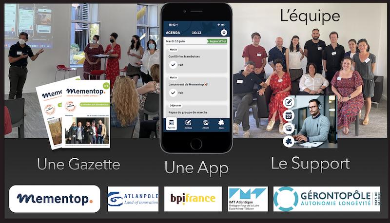 15 juin 2021 : voici venue l'heure du lancement du dispositif Mementop, au Gérontopôle des Pays de la Loire, à Nantes