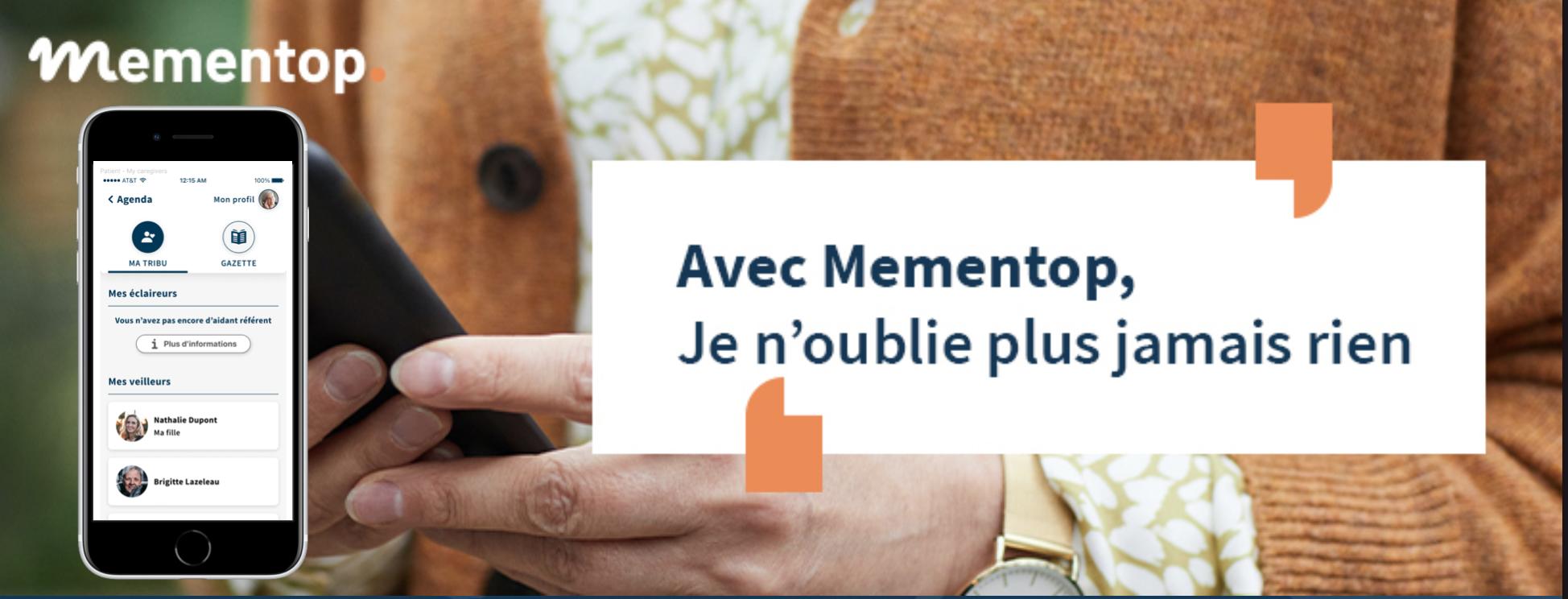 Mementop 1.1 accroît la confidentialité de vos informations