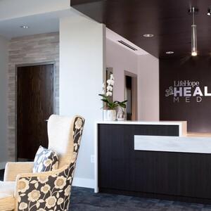 Lifehope Healing Med Spa's Front Desk