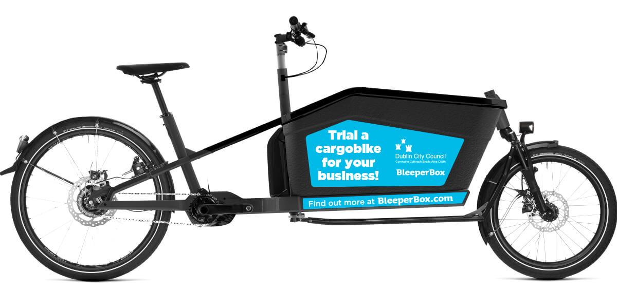Bleeper Dublin City Council ecargo bike