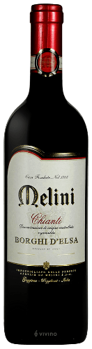 """This 2012 Melini Chianti """"Borghi d'Elsa"""" is a traditionally styled Chianti that offers typical savory fruit notes along with hints of oak"""