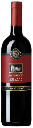 It's a blend of the delicate and fruitful aromas of Sangiovese piccolo and those, more spicy and austere of cabernet, where plum and red fruits prevail.