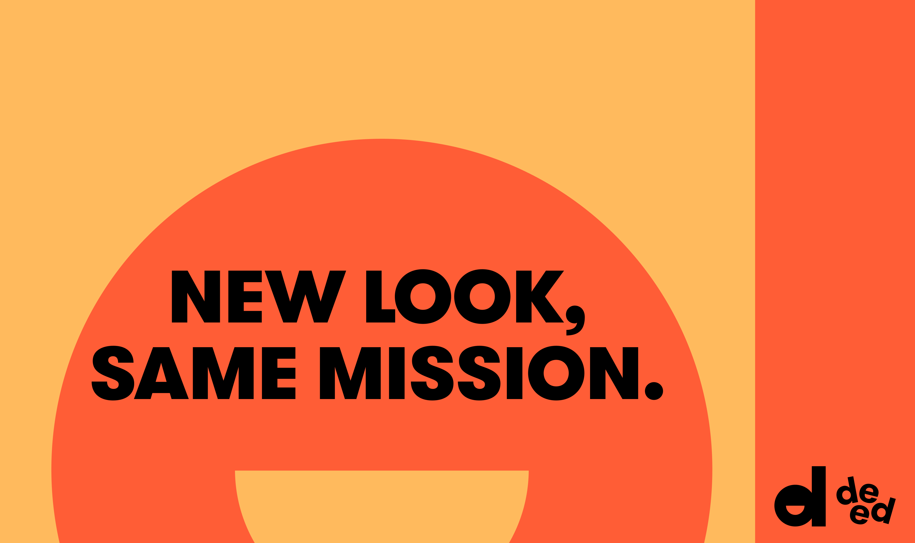 New Look. Same Mission.