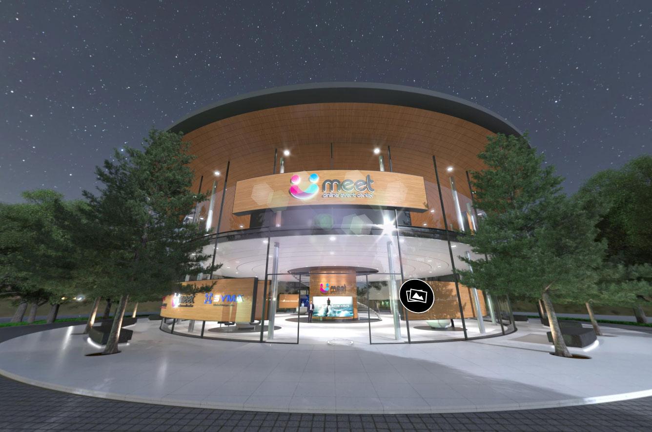 Virtueller Showroom von meet event center
