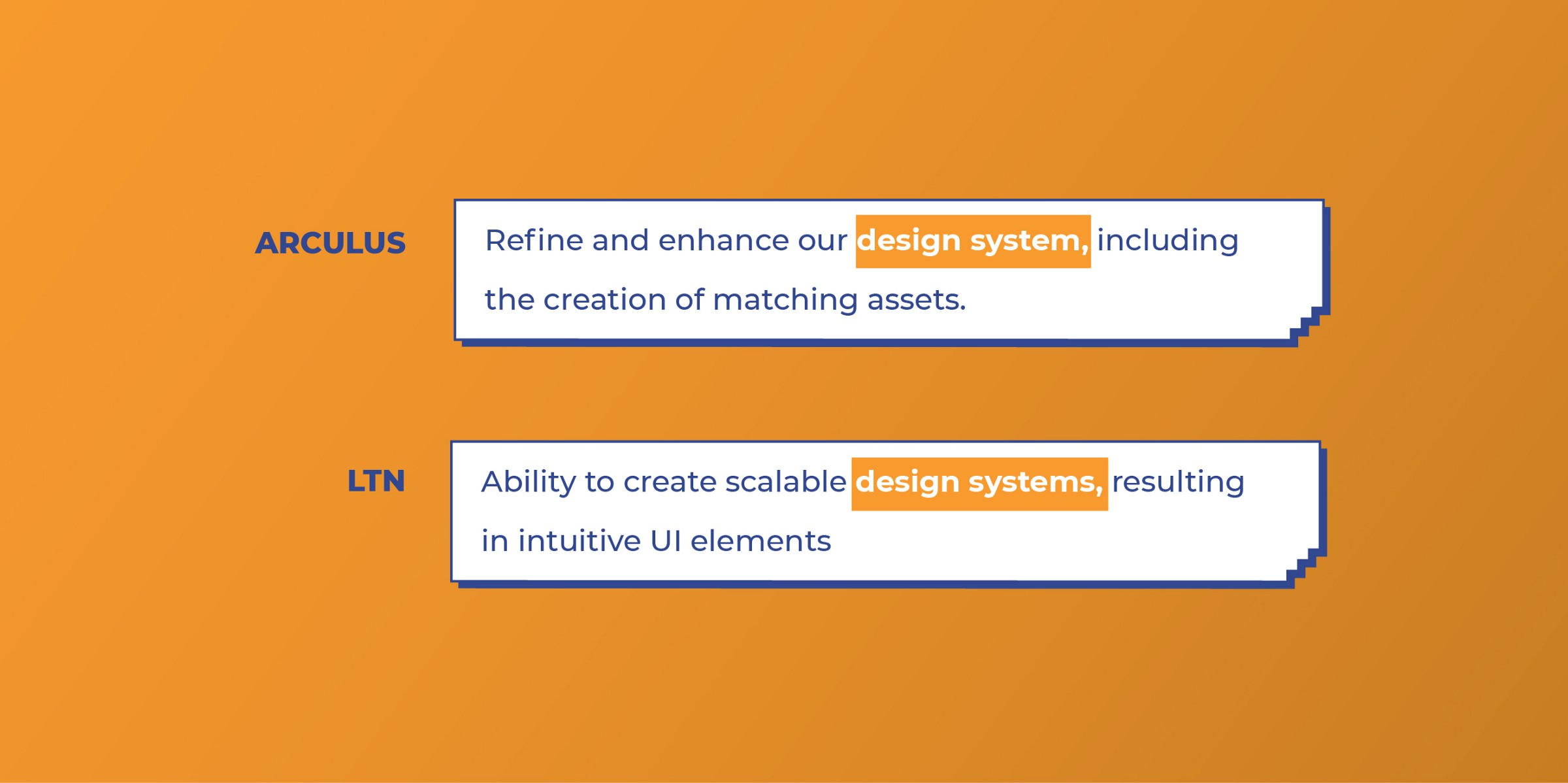 Arculus and LTN look for Design Systemwork from UI designers