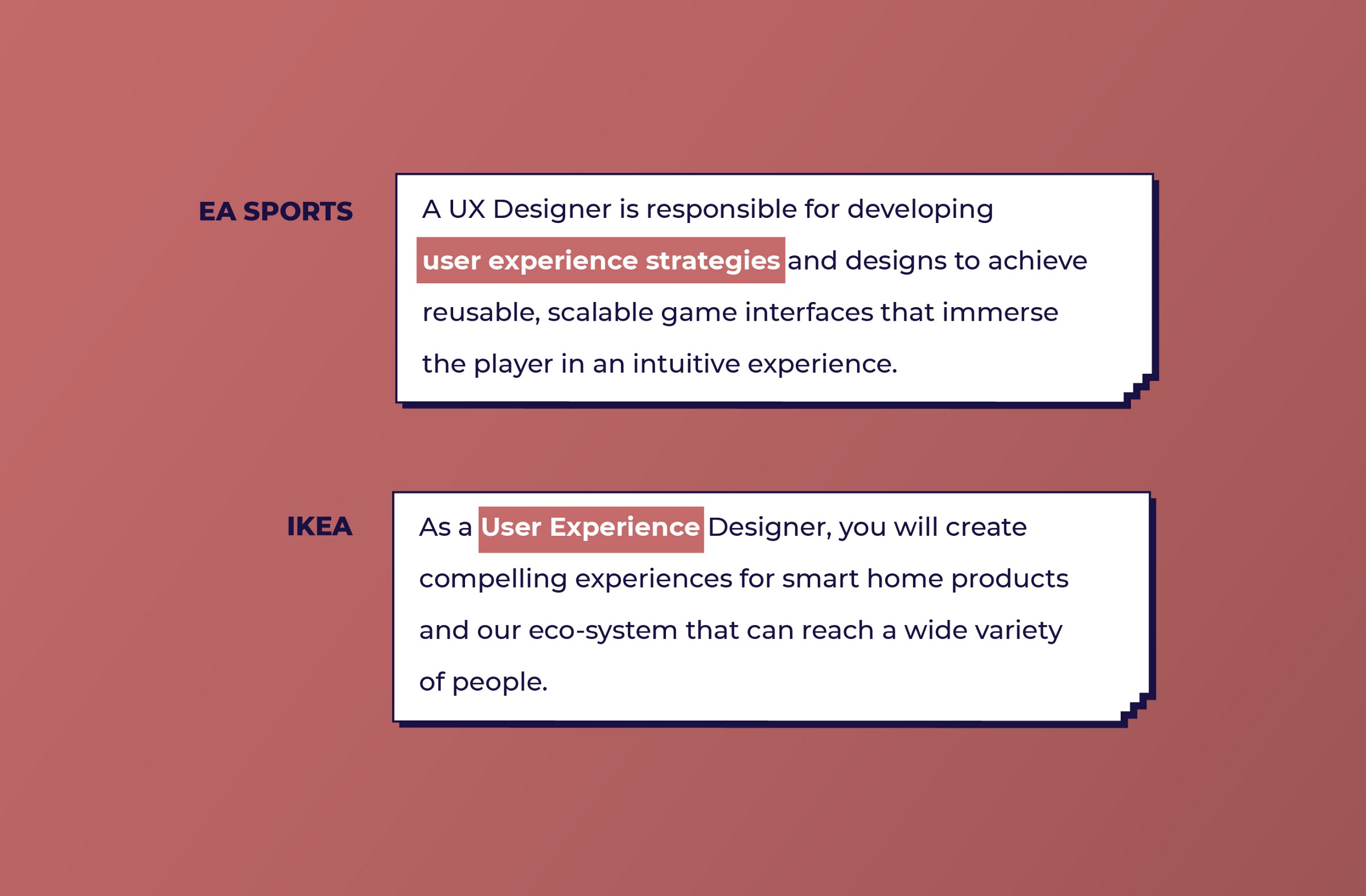 EA and IKEA look for UX work from UX designers