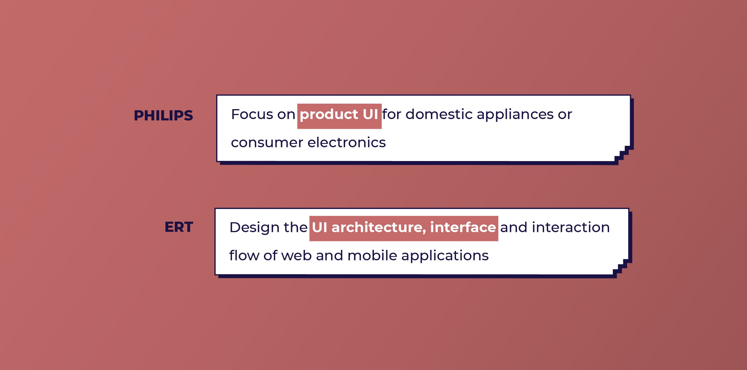 Philips and ERT look for UI work from UX designers