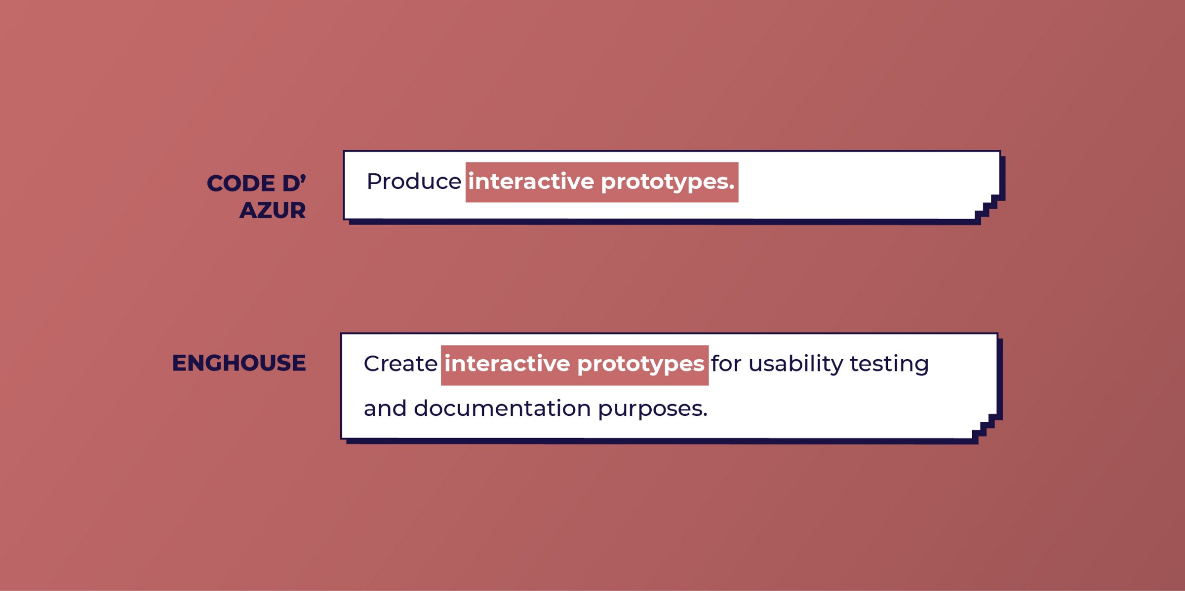 Code D' Azur and Enghouse look for Prototyping work from UX designers