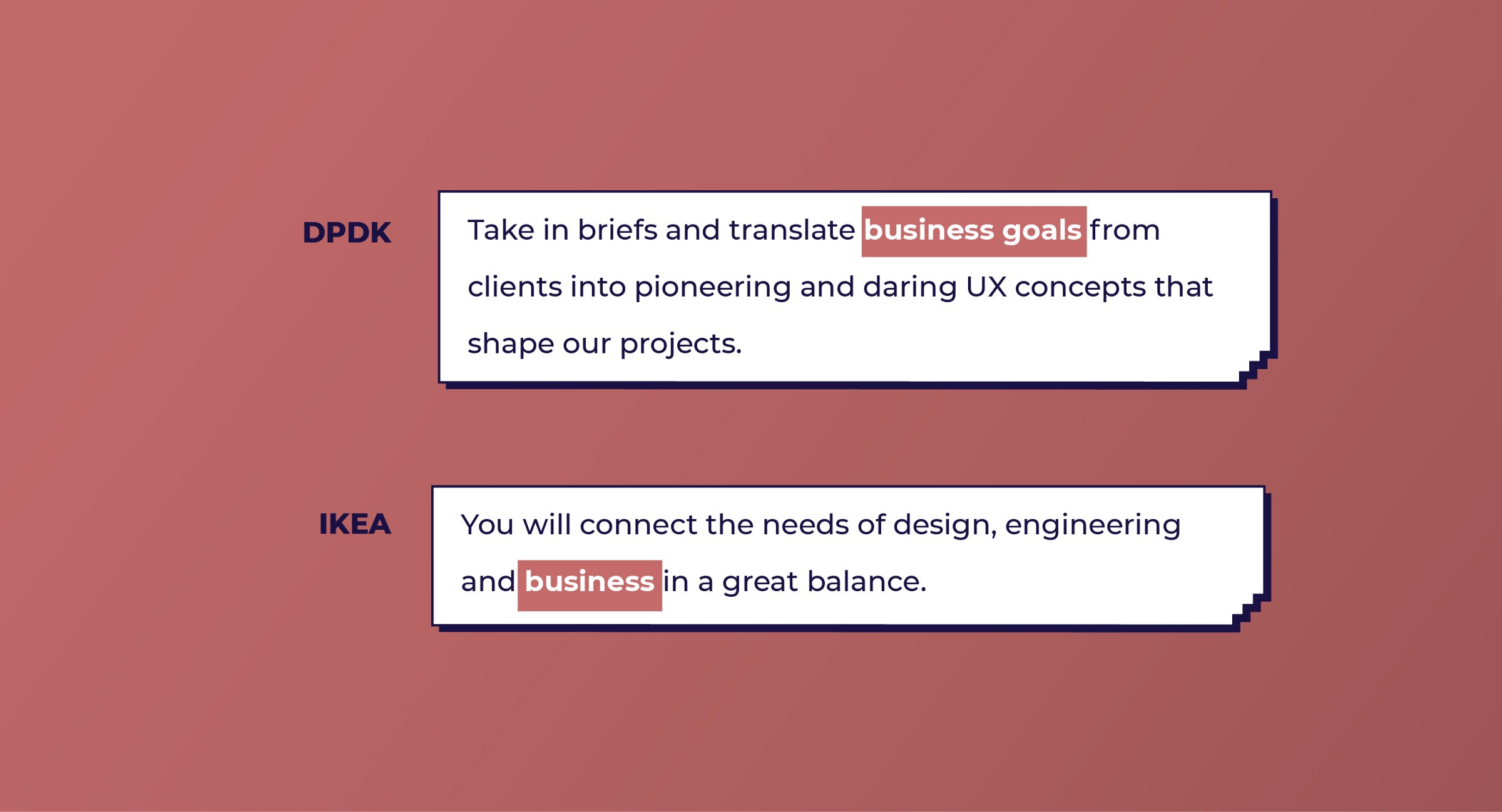 DPDK and IKEA look for Business skills from UX designers