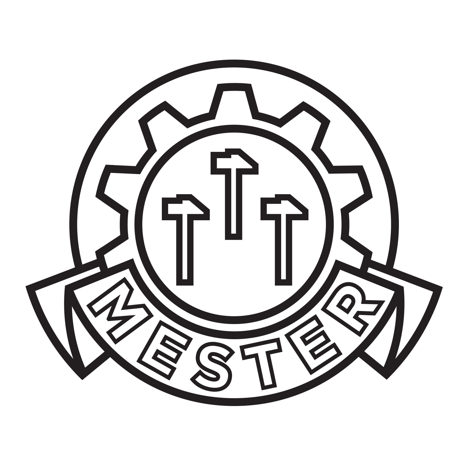 This shows an image of Mester logo.