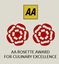 The Inn at Welland - AA Rosette Award For Culinary Excellence Logo