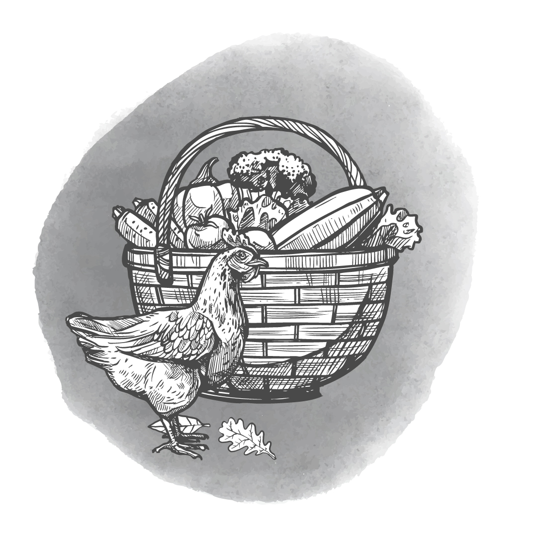 The Inn at Welland - Local ingredients Logo