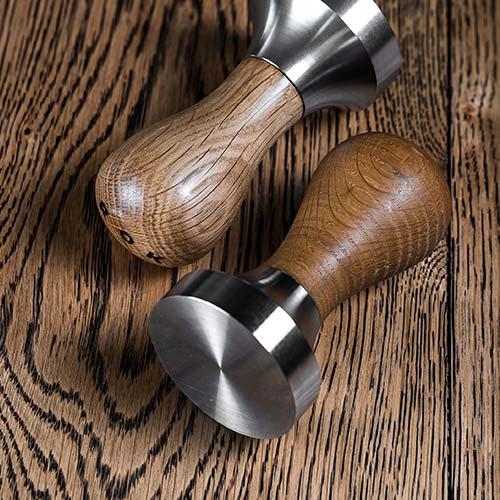 ROK Oak Tamper on Wood