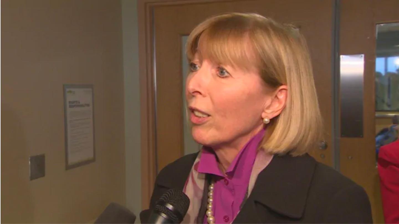Picture of Sue Vanderbent speaking