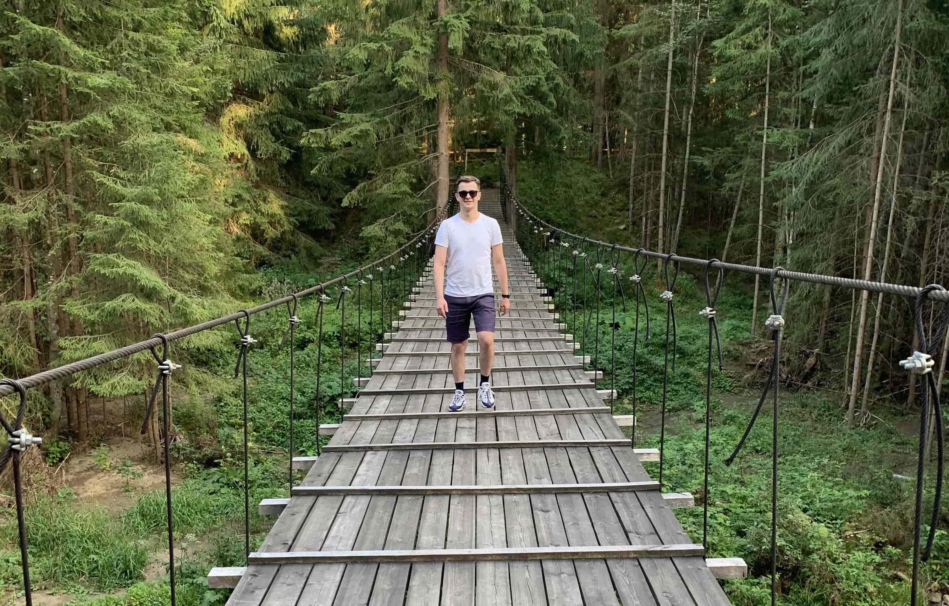 It's me somewhere in Carpathian Mountains