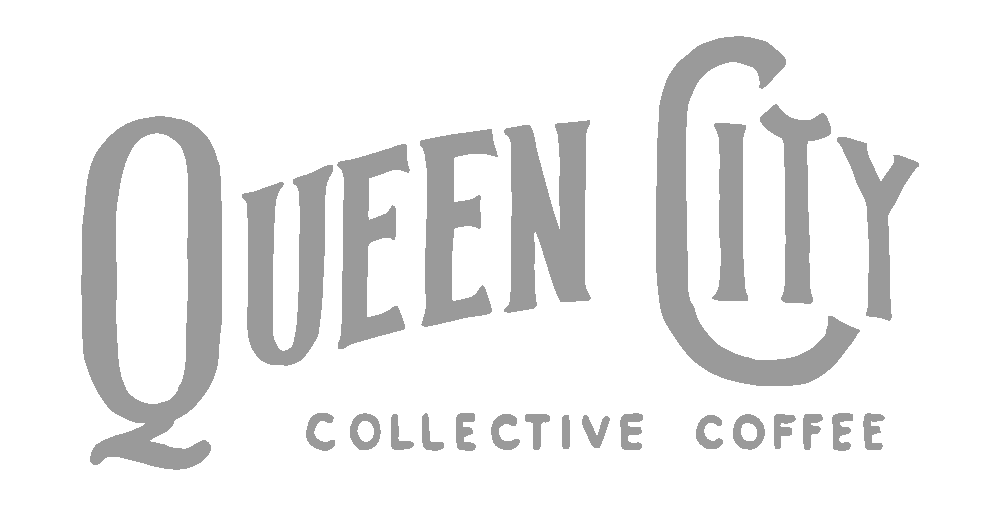 Logo for the brand Queen City Coffee
