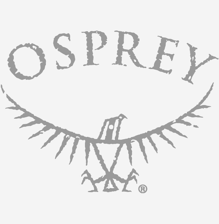 Logo for the brand Osprey