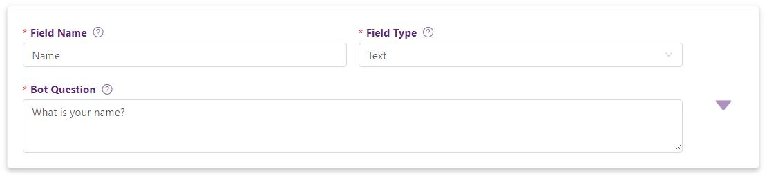 Form field edit