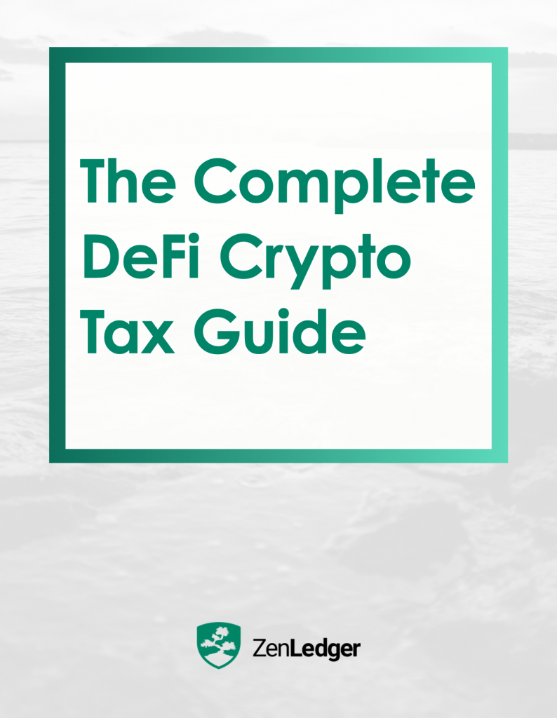 DeFi Crypto Tax Guide