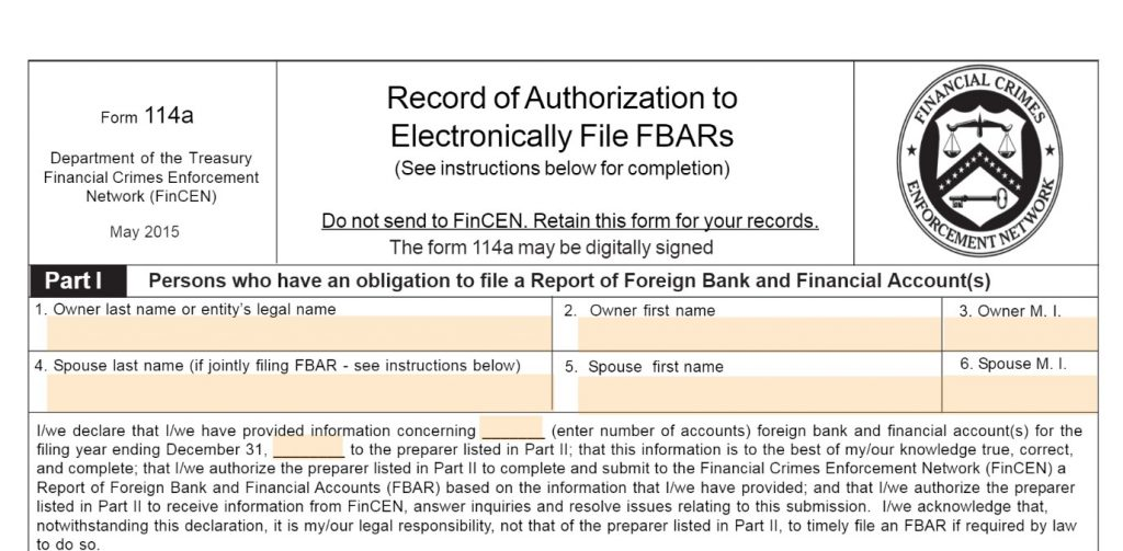 Form 114a