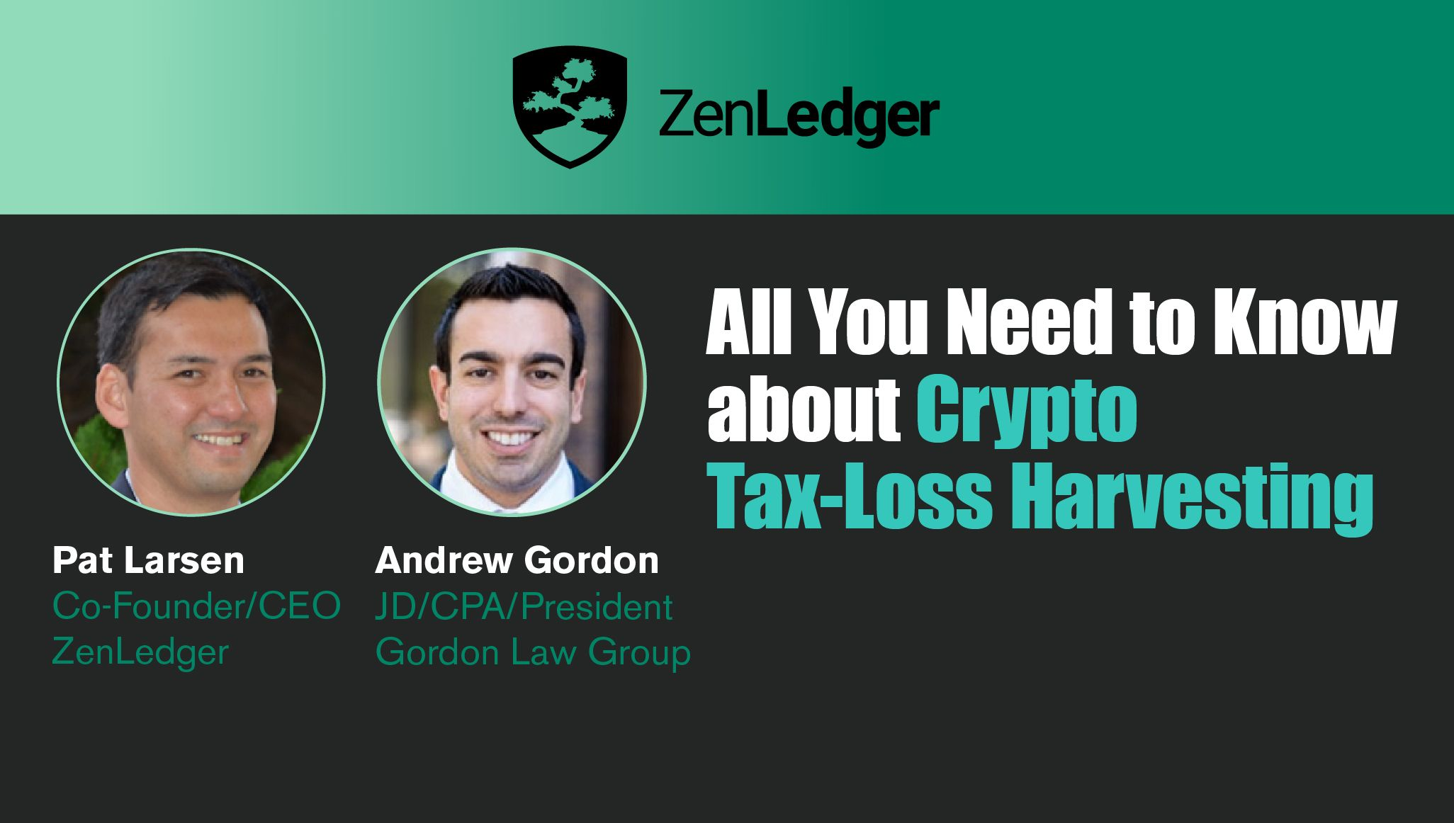 All You Need to Know About Crypto Tax-Loss Harvesting Webinar
