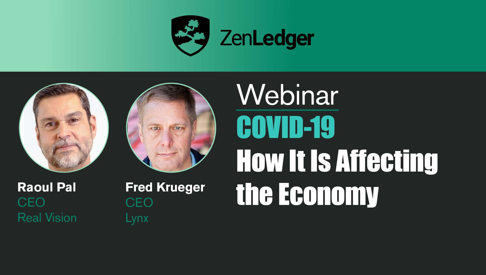 Covid-19 – How It's Affecting the Cryptocurrency Economy Webinar