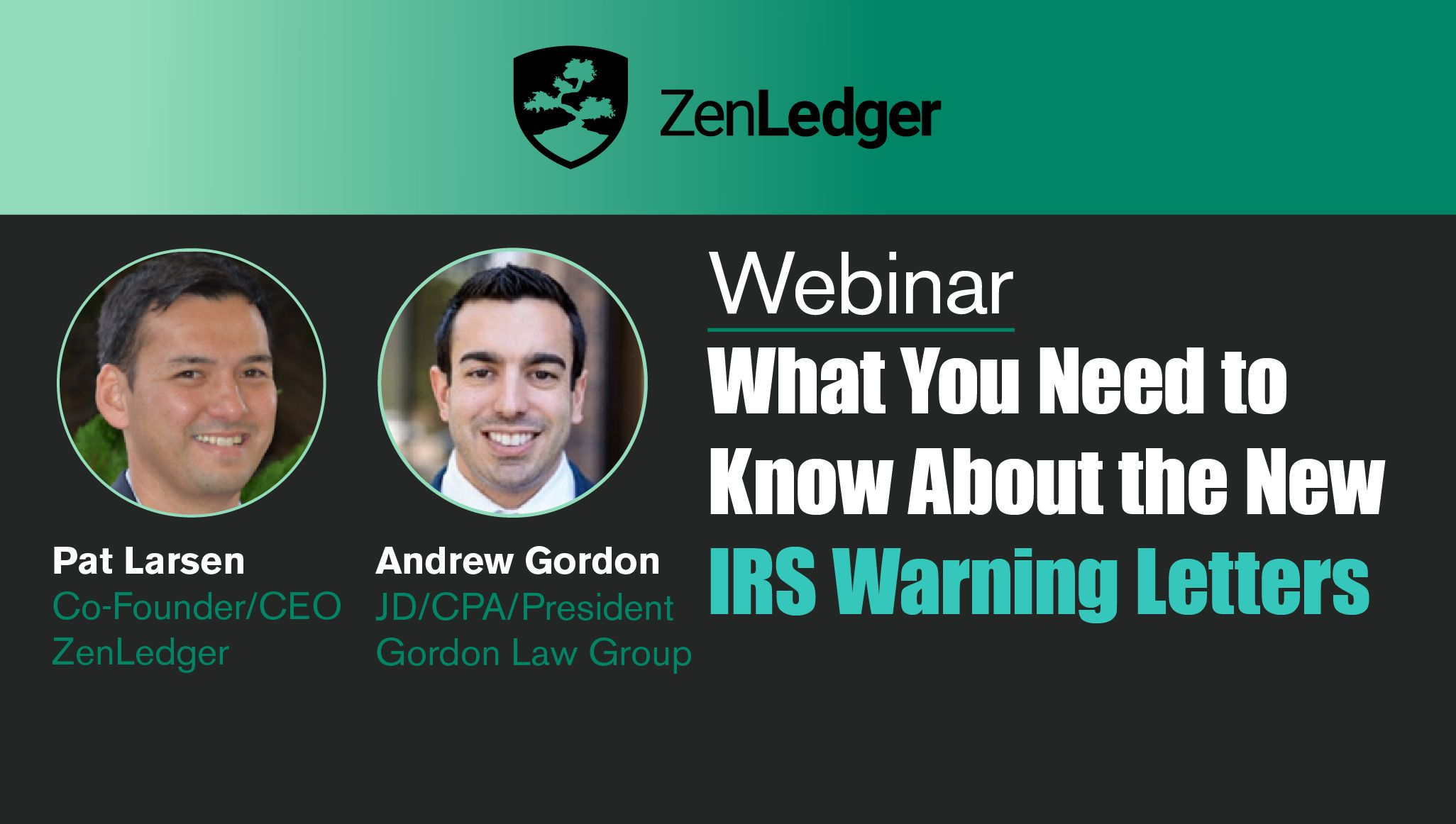 What You Need to Know About the New IRS Crypto Letters Webinar