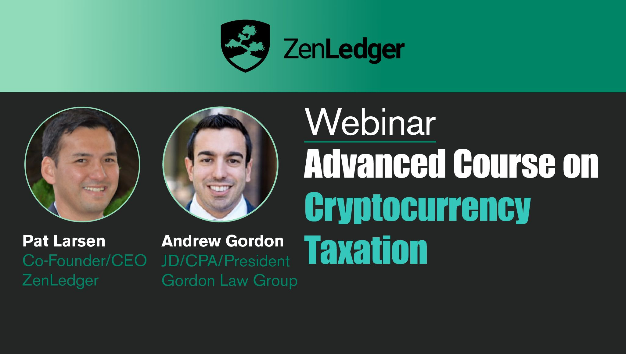 Advanced Cryptocurrency Training for Tax Professionals Webinar