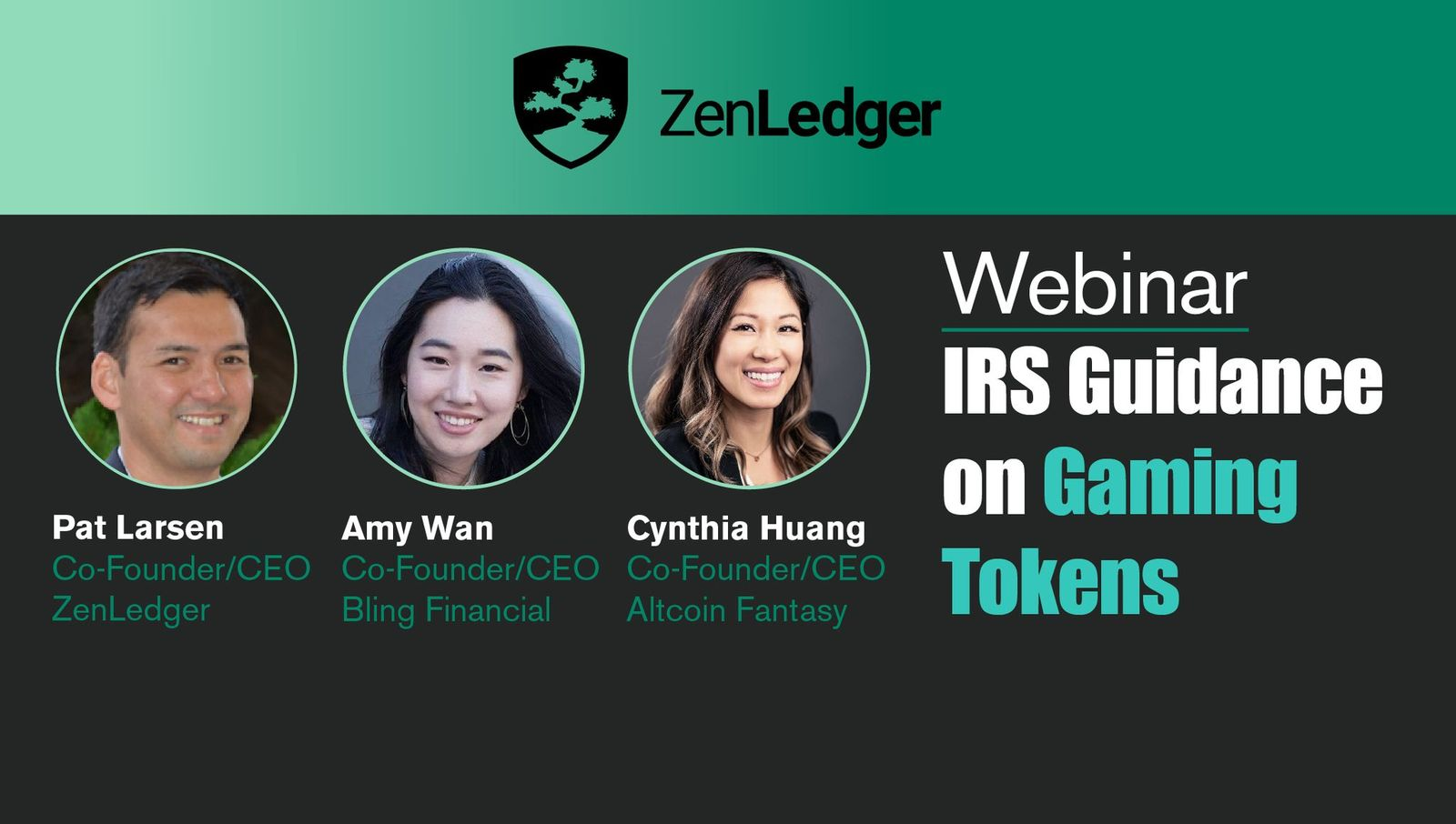 Crypto Gaming Tokens and Their Tax Implications Webinar