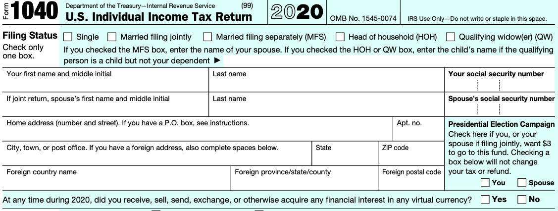Crypto Tax Evasion
