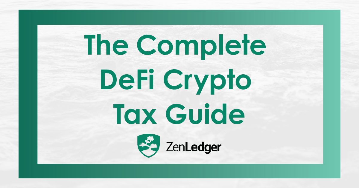 DeFi Crypto Taxes