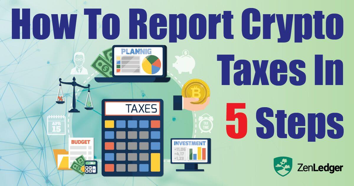 How Report Crypto Taxes