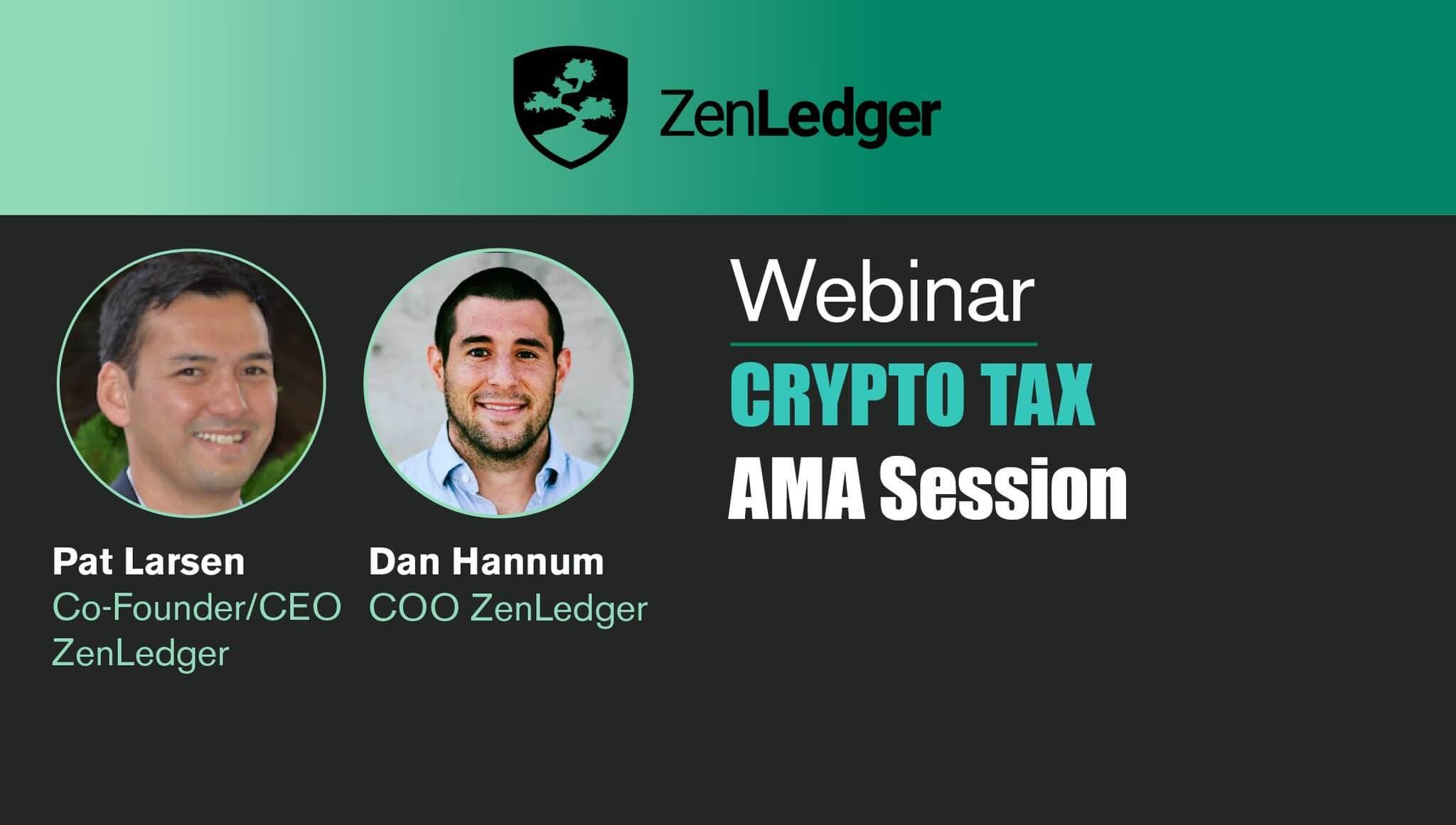 Crypto Taxes AMA 2021