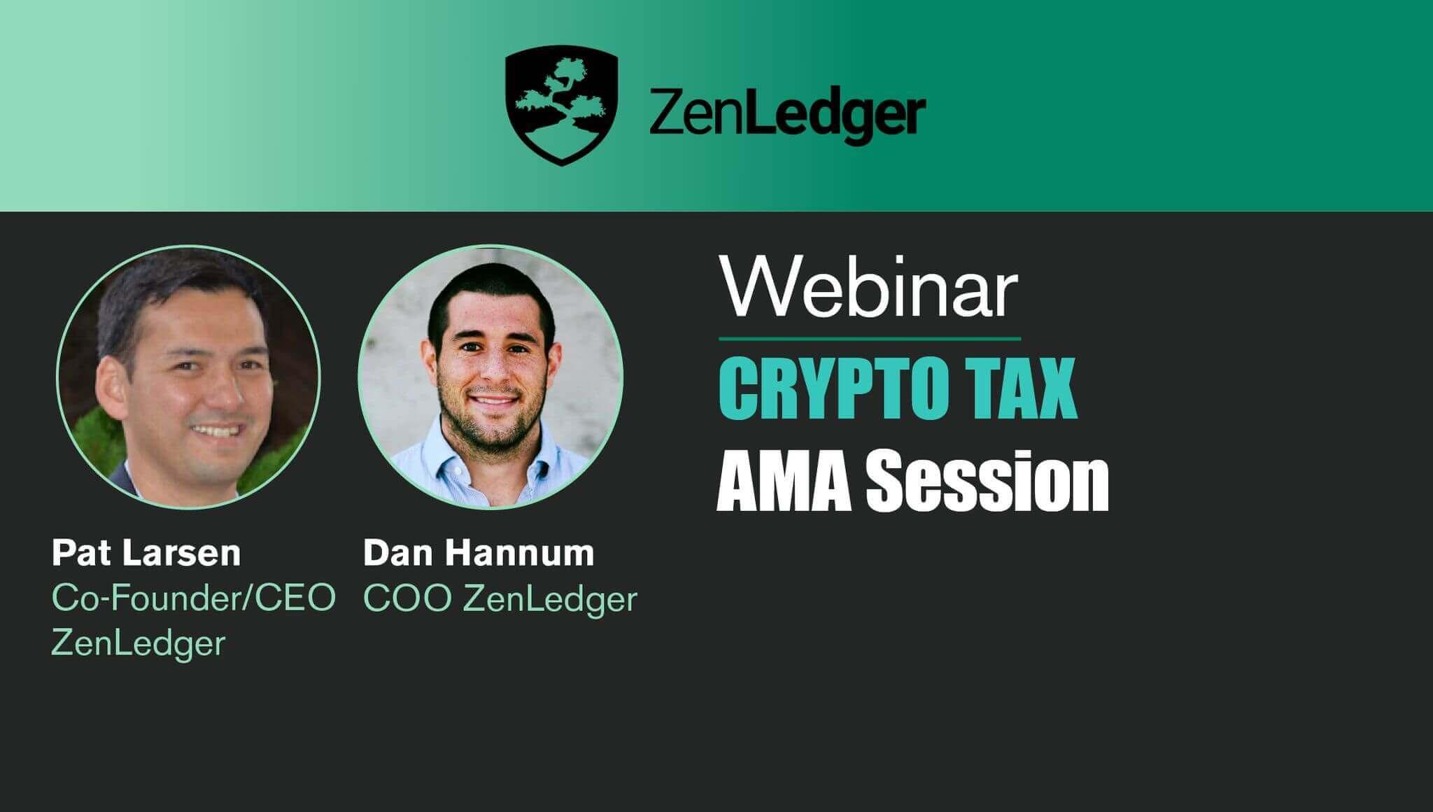 Crypto Taxes AMA