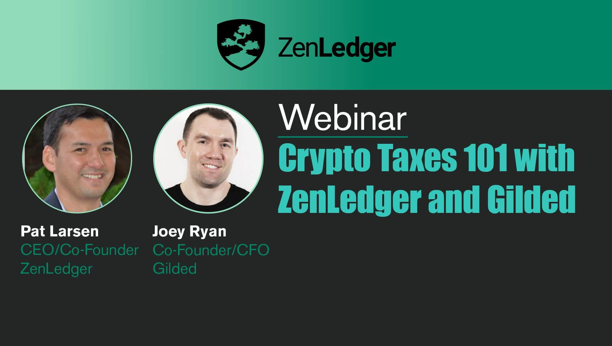 Crypto Taxes 101 Webinar