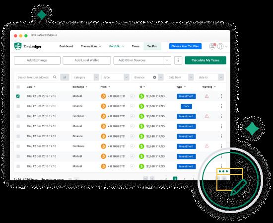 ZenLedger Platform- bitcoin mainstream